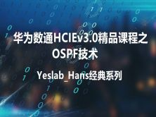 Yeslab_Hans华为数通HCIA/HCIP/HCIE经典系列之HCIP01 OSPF技术