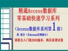 精通Access数据库从零基础学习系列第1部