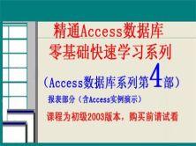 精通Access数据库零基础快速学习系列第4部