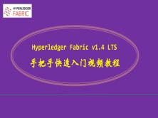 区块链 Hyperledger Fabric v1.4 LTS 快速入门视频教程