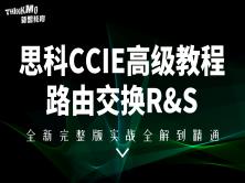 CCIE思科认证高级全套完整版实战课程(路由交换R&S)