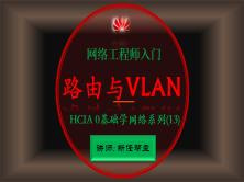 2020网络工程师入门HCIA 0基础学网络系列课程13:路由与VLAN综合项目【新任帮主】