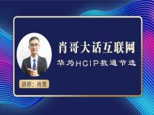 肖哥大话互联网 华为HCIP直播课程节选