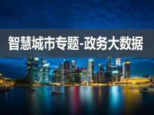 智慧城市专题-政务大数据