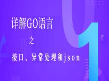 详解GO语言之接口、异常处理和json