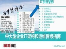 中大型企业IT架构和运维晋级指南-系统架构篇