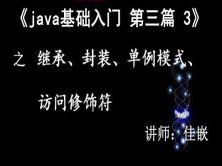 《Java基础入门》第三篇3  继承、封装、访问修饰符