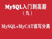 MySQL快速入门培训教程(九):MySQL+MyCAT读写分离配置