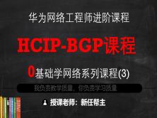 11年双IE实战专家带你2个月搞定HCIP系列课程3-BGP路由协议