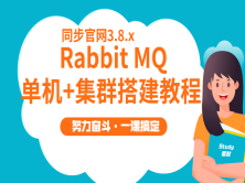 RabbitMQ3.8.x单机+集群搭建教程