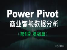 【曾贤志】Power Pivot For Excel商业智能数据分析(第1季 基础篇)