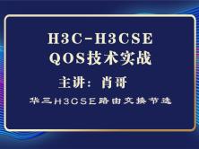H3C-H3CSE QOS技术实战[肖哥视频教程]