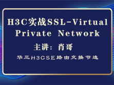 H3C-H3CSE 华三实战 SSL-Virtual Private Network [肖哥视频]