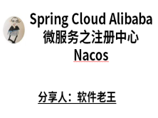 [SpringCloud Alibaba]小白快速入门Spring Cloud Alibaba