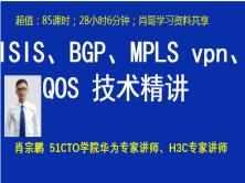 ISIS、BGP、MPLS*pn、QOS 技术精讲(肖哥)