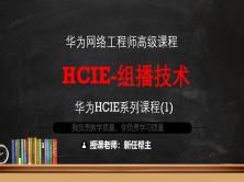 11年双IE实战专家带你2个月搞定HCIE系列课程1-组播路由技术