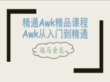 (骏马金龙)精通awk精品课程:awk从入门到精通