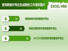 EXCEL-VBA 查询数据并导出生成新的工作簿和图片
