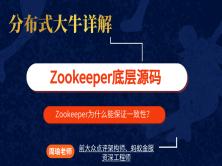 分布式大牛详解Zookeeper底层原理【鲁班学院】