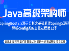 源码分析专题系列教程之基础原理spring5源码解析config类的加载过程第12季