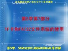 TF卡和FAT32文件系统的使用-第5季第7部分
