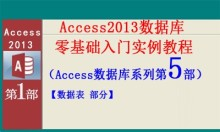 Access2013数据库零基础入门实例教程第5部