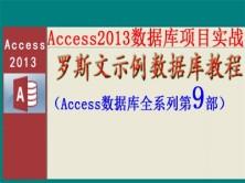 Access2013数据库项目实战之罗斯文示例数据库