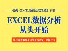 Excel数据处理思维带你飞(深入、系统、全面,总课时超过30个小时)