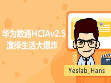 Yeslab_Hans2020年华为数通HCIAv2.5-演绎生活大爆炸(持续更新中!)