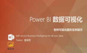 Power BI 数据可视化---实例展示