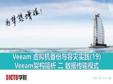 Veeam 虚拟机备份与容灾实践(19) 备份架构简析 二