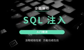 SQL注入由简入精