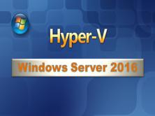 WindowsServer2016虚拟化Hyper-V视频教程