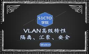 VLAN高级特性(隔离,汇聚,安全)-Wakin出品