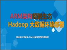 鲲鹏生态+ARM架构大数据平台搭建+云容器