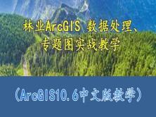 林业ArcGIS 数据处理、专题图案例教学
