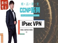 高级网络工程师CCNP专题系列11:IPsec Virtual Pri Network【新任帮主】