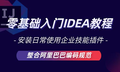 IDEA视频教程 idea安装企业技能插件 SpringBoot整合