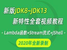 20年全新JDK8~JDK13全套新特性视频教程java教程lambda函数式编程