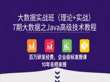7期大数据之10天Java高级技术教程(数据类型、IO、连接池、NIO、JVM、Rose、线程池等)