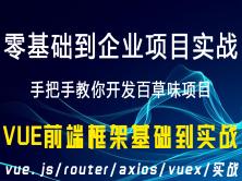 web前端开发之Vue框架基础知识的讲解/vue.js/router/axios/vuex