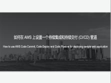 如何在AWS上设置持续集成和持续交付(CI/CD)流程