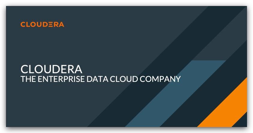 Cloudera开源商业模式新变化