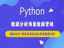 python数据分析海量数据营销