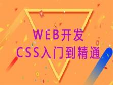 Web开发之CSS入门到精通