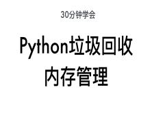 python垃圾回收和内存管理