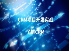 CRM项目开发实战-1了解CRM