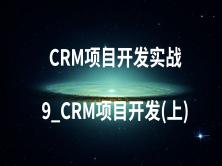 CRM项目开发实战-9_CRM项目开发(上)