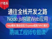 Node.js 12.x全栈之路二:http模块/路由/Express/EJS模板/MVC模式