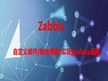 zabbix监控-自定义邮件、微信报警,实现grafana画图